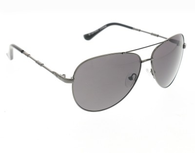 Vast Men Women Shaded Fashion Aviator Sunglasses(Grey)