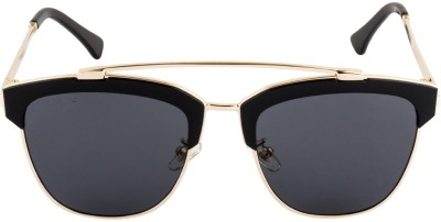 Voyage J1010MG1941 Cat-eye Sunglasses(Black)