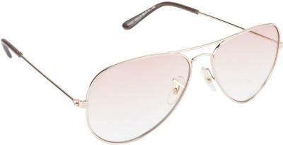 IMAGE S403L-C2 Aviator Sunglasses(Pink, Brown)