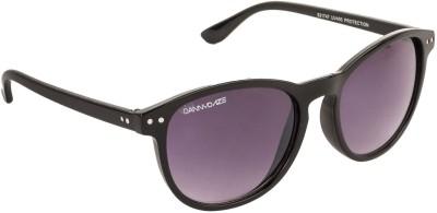 Danny Daze D-1712-C1 Round Sunglasses(Black)