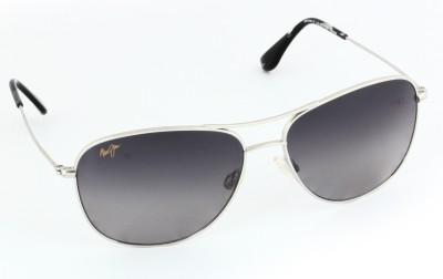 Maui Jim Cliff House Aviator Sunglasses