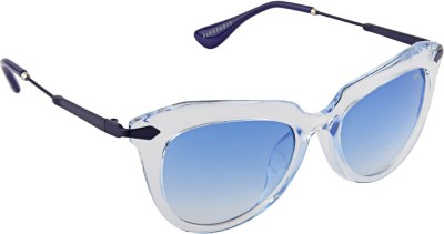 Farenheit 1811 Cat-eye Sunglasses(Blue)