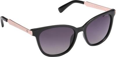 Polaroid PLD-5015-BMB-IX-55 Rectangular Sunglasses(Grey)