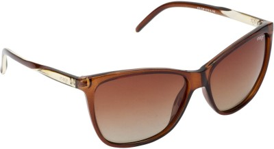 IMAGE S472-C2P Rectangular Sunglasses(Brown)