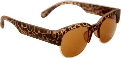 Celebrity Retro Rectangular Sunglasses