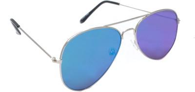Sellebrity Elegant Silver Aviator Sunglasses Aviator Sunglasses