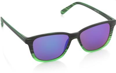 Joe Black JB-1014-C2 Wayfarer Sunglasses(Blue)