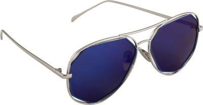 6by6 SG1671 Aviator Sunglasses(Blue)