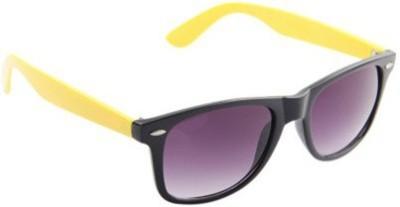Prime Club PCMS-043 Lime-Black Wayfarer Sunglasses