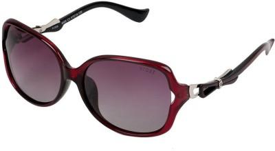 Xross X-008-C3-57 Polarized Oval Sunglasses