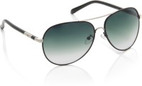 Gio Collection  23   8052 C38 - P12219 Oval Sunglasses(Blue)