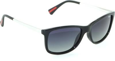 IMAGE IM-457-C1-P Wayfarer Sunglasses(Black)