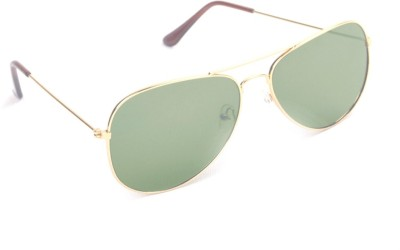 6by6 SG470 Aviator Sunglasses(Green)