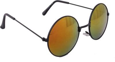 Sushito Solid Round Sunglasses
