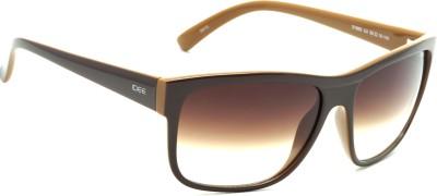 IDEE IDEE-1993-C4 Wayfarer Sunglasses(Brown)