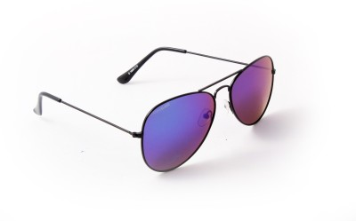 Danny Daze D-1600-C12 Aviator Sunglasses(Blue, Green)