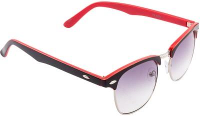 Funky Boys FB-4041C10 Rectangular Sunglasses(Grey)