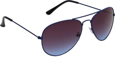 6by6 SG1252 Aviator Sunglasses(Blue)