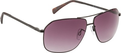 Farenheit FA-2320-C2 Rectangular Sunglasses(Violet)