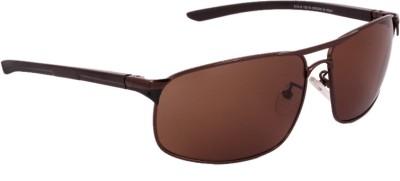 Killer KL3005 GUN Rectangular Sunglasses(Grey) image