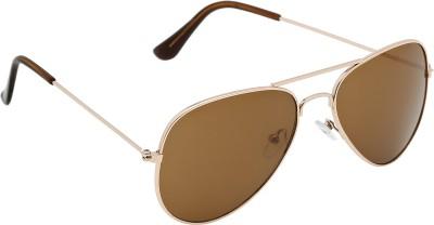 Olvin OL305-01 Aviator Sunglasses(Brown)
