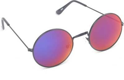 6by6 SG439 Round Sunglasses(Violet)
