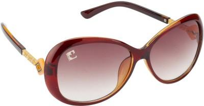 Clark N, Palmer D1555 S2 Over-sized Sunglasses