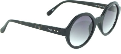 IDEE IDEE-1986-C1 Round Sunglasses(Grey)