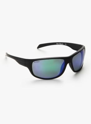 Joe Black JB-802-C4 Rectangular Sunglasses(Blue)
