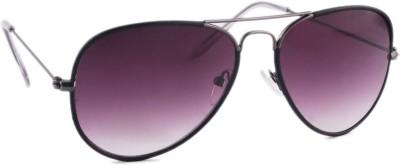 Joe Black JB-601-C6 Aviator Sunglasses(Violet)