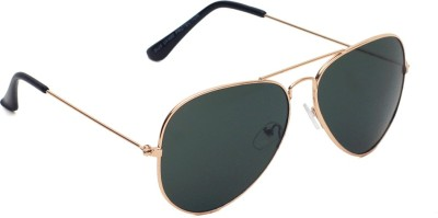 6by6 SG1451 Aviator Sunglasses(Green)