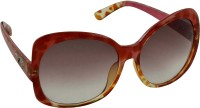 Rockford RF-134-C3 Over-sized Sunglasses(Brown)