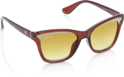 Allen Solly AS269 C2 Cat-eye Sunglasses(Yellow)