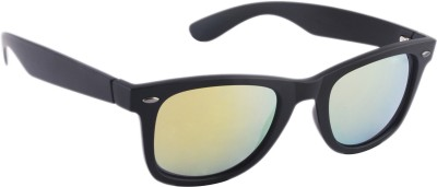 Joe Black JB-708-C9 Wayfarer Sunglasses(Golden)