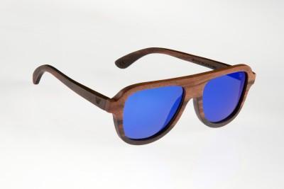 WOOD WORKS INC. Spectre Aviator Sunglasses