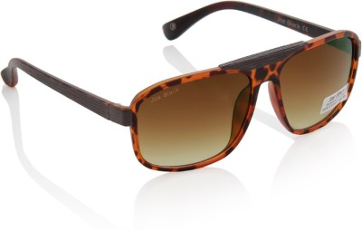 Joe Black JB-625-C5 Rectangular Sunglasses(Brown)