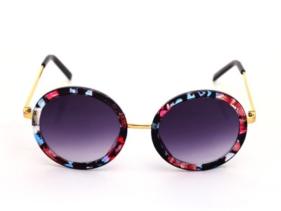Just Pretty Things Round Sunglasses