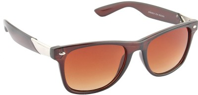 IRAYZ 1223 Wayfarer Sunglasses(Brown)