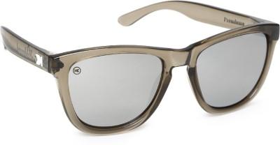 Knockaround Premiums Grey Monochrome Wayfarer Sunglasses