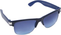 J.K Optical Co. Plus2001 Wayfarer Sunglasses(Blue)