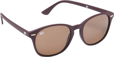 MTV 117-C5 Wayfarer Sunglasses(Brown)