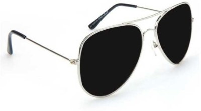 Epic Ink sun215 Aviator Sunglasses(Black)