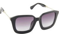 Farenheit 1503-C2 Rectangular Sunglasses(Grey)