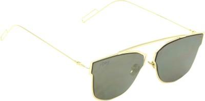 I-GOG Wayfarer Golden Mirror Wayfarer Sunglasses
