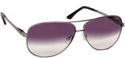 IDEE IDEE S1845 C2 61 Aviator Sunglasses(Grey)
