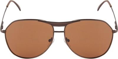 Chrome Aviator Sunglasses