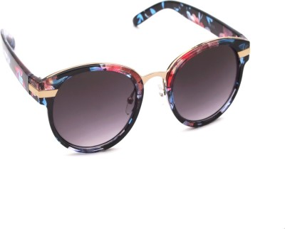 6by6 SG745 Round Sunglasses(Blue)