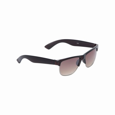 Vast CM_RECTANGLE_BROWN_BROWN Wayfarer Sunglasses(Brown)