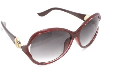 FashBlush Higher Love Oval Sunglasses