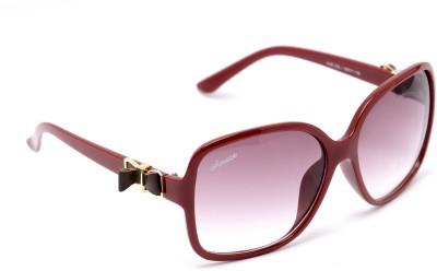 Amaze Large Oval Oval Sunglasses